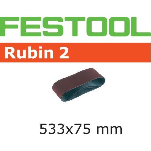 FESTOOL   Banda abraziva Rubin 2 (533x75)